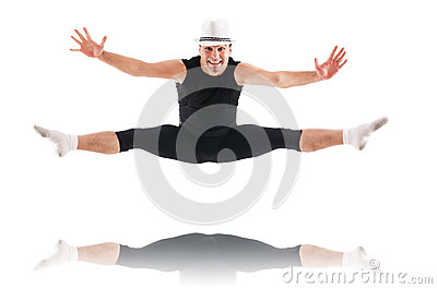 Изолированный танцор