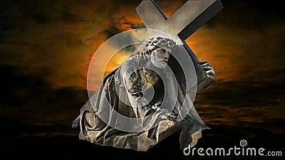 Иисус акции видеоматериалы