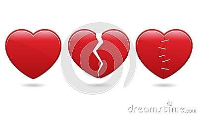 иконы сердца eps