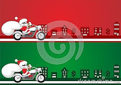 Иллюстрация Санта