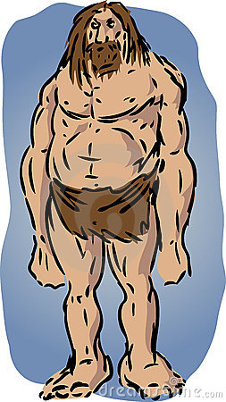 иллюстрация троглодита
