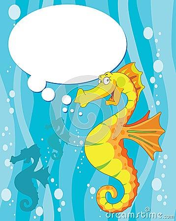 Говоря лошадь моря