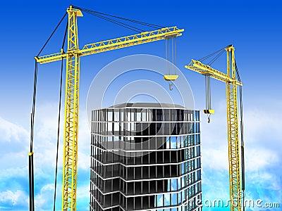 здание 3d