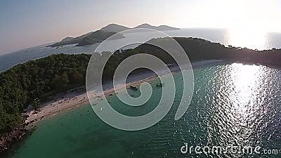 Каникула на пляже сток-видео