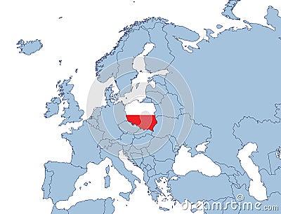 Картинки по запросу Польна на карте европы