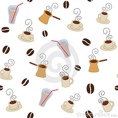 картина кофейных чашек