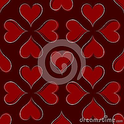 Картина сердец