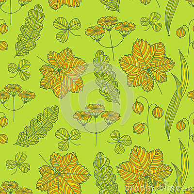 Картина травы лета