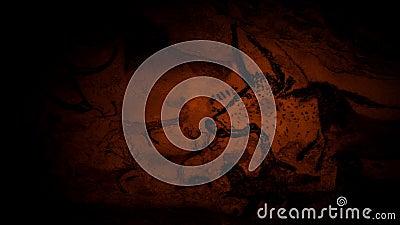Картины пещеры животных пламенем страсти акции видеоматериалы