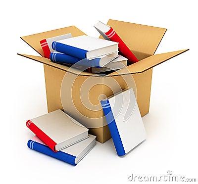 коробки книг Стоковое Изображение ...: ru.dreamstime.com/стоковое-изображение...