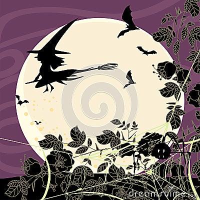 Карточка хеллоуина