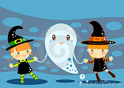 карточка halloween