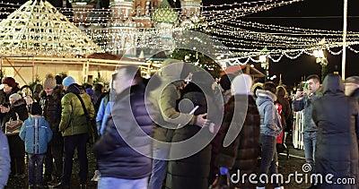 Карусель на Красной площади в центре внимания акции видеоматериалы