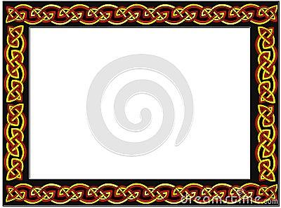 кельтская рамка