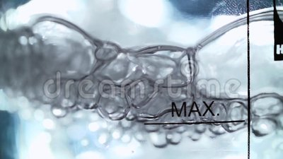 Кипя химическая жидкость сток-видео