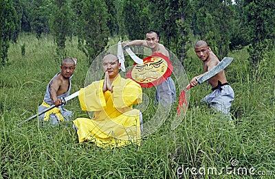 китайское kung fu