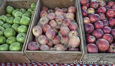 клети яблока
