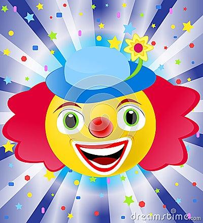 клоун цирка