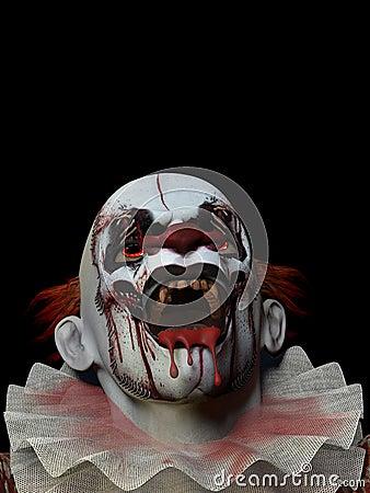 клоун 3 страшный