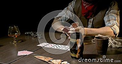 Ковбои играют в карты игровые автоматы в обезянку