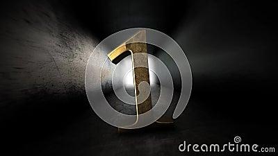 Комплекс предпусковых операций от 0 до 10 Число 1 Число 1 золота с каналом альфы 77 видеоматериал