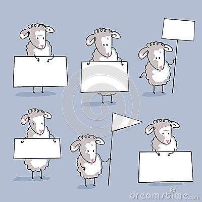 Комплект овец