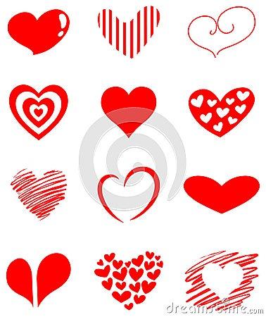 комплект сердца