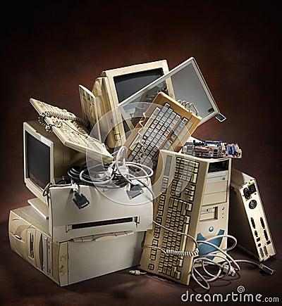 компьютеры старые