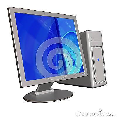 компьютер 3d