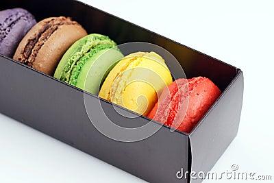 Коробка macaroons