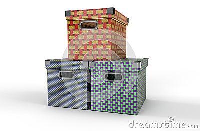 коробки 3