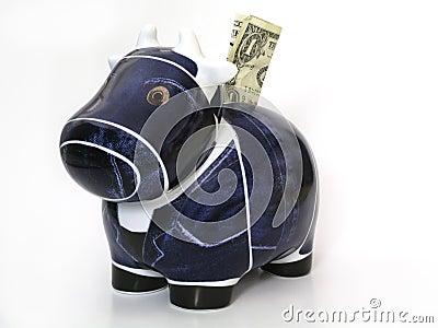 корова наличных дег