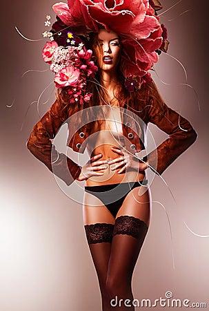 Эротичная сексуальная женщина фото 47-748