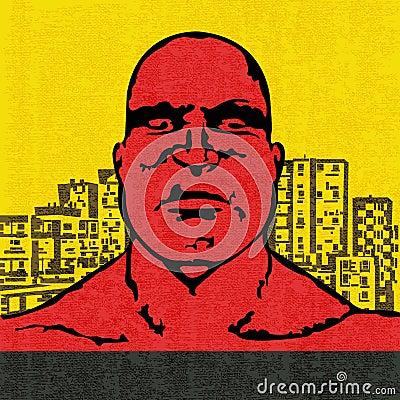 Красная голова