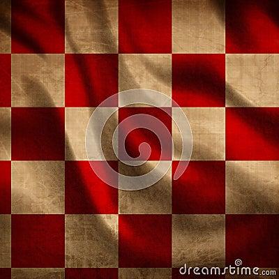Красная ткань пикника