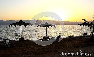 Красное Море пляжа