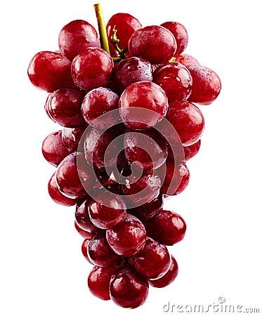 Красные виноградины