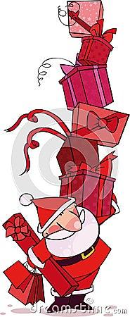 красный santa