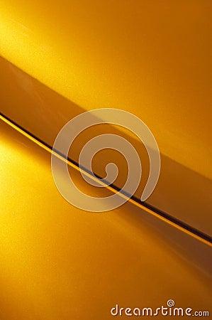 кривый золотистая