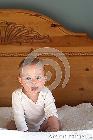 кровать младенца