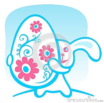 кролик пасхального яйца