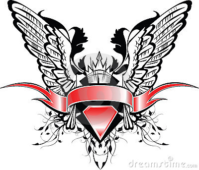 крыла знамени