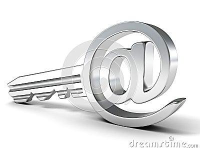 Ключ электронной почты
