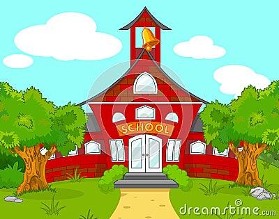 Ландшафт школы