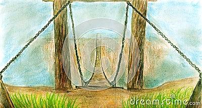 летание моста
