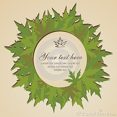 листья знамени осени