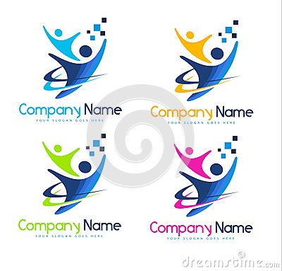 Логотип людей
