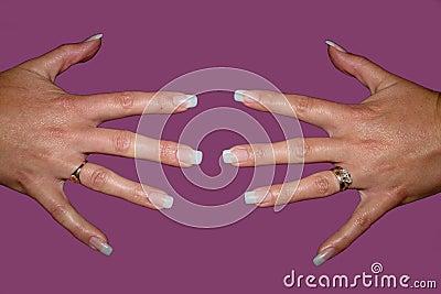 ложные ногти перста