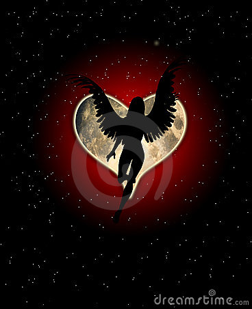 луна сердца ангела