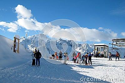 лыжа зоны